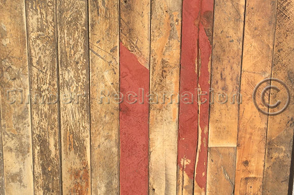Reclaimed Wood Wall or Floor Cladding Maple from McVities Factory