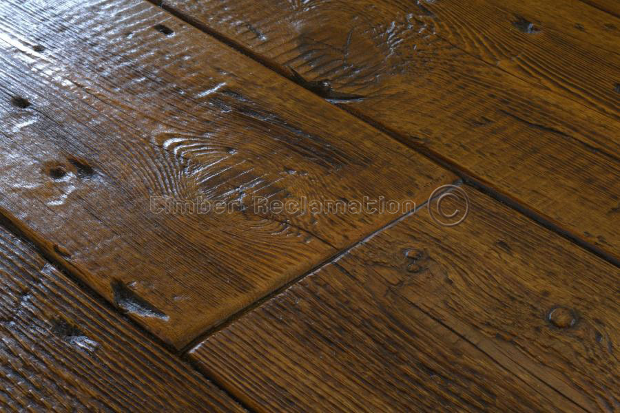 Reclaimed Antique Pine Flooring