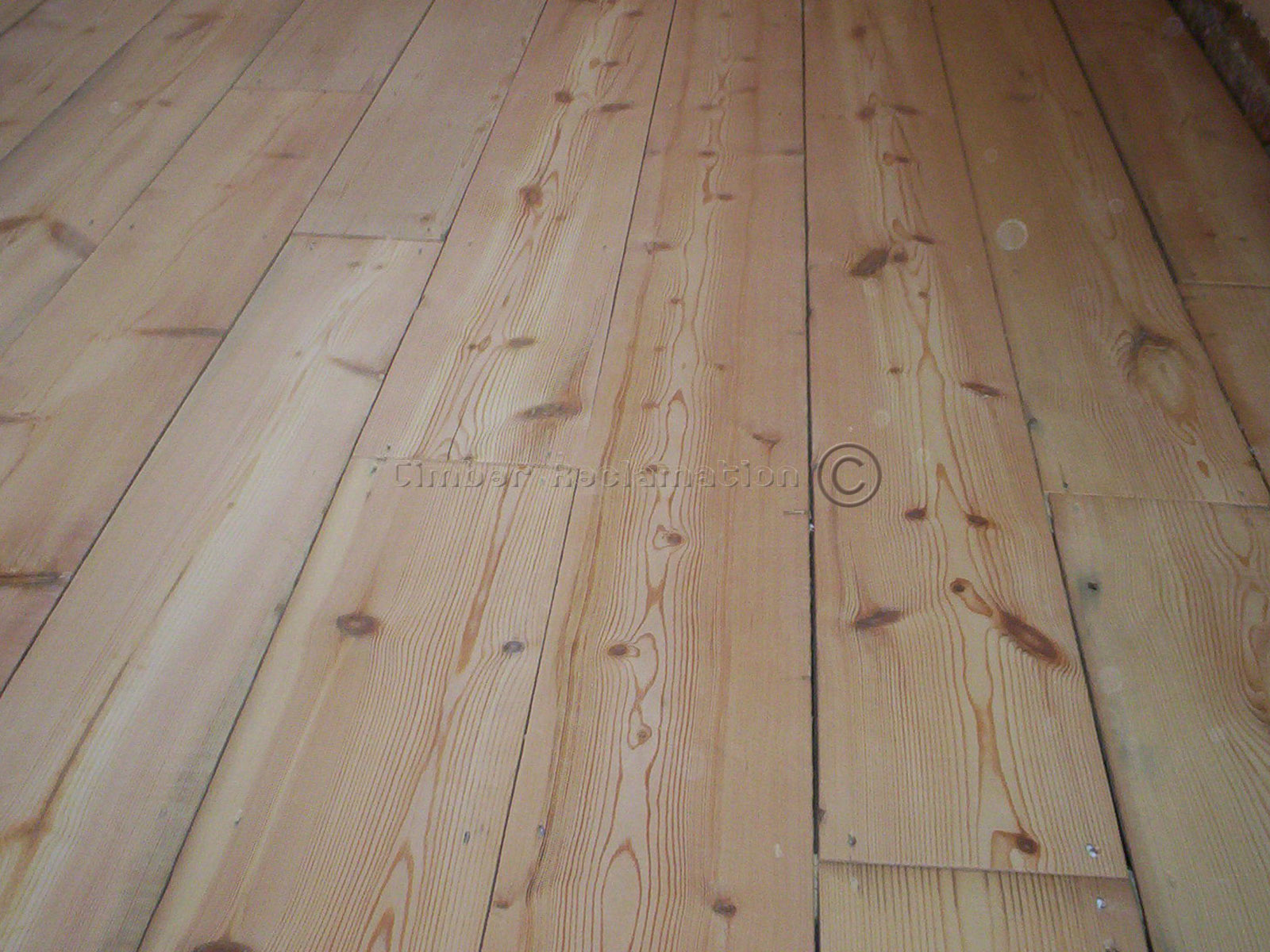 Reclaimed pine flooring Salvaged pine flooring