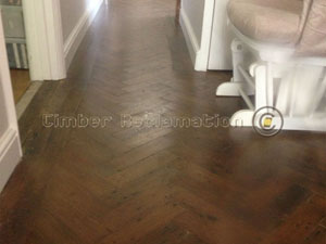 English Oak Parquet from reclaimed timber