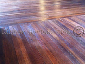 South East Asian Jarrah Strip Flooring (in K2 Indian Restaurant)