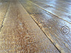 Reclaimed Antique PineFlooring with Hit and Miss Finish