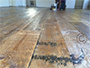 Reclaimed Antique PineFlooring with Hit and Miss Finish : example 2