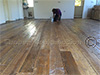 Reclaimed Antique PineFlooring with Hit and Miss Finish : example 3