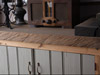 Bespoke Pine Kitchen Units with Chunky Oak Top