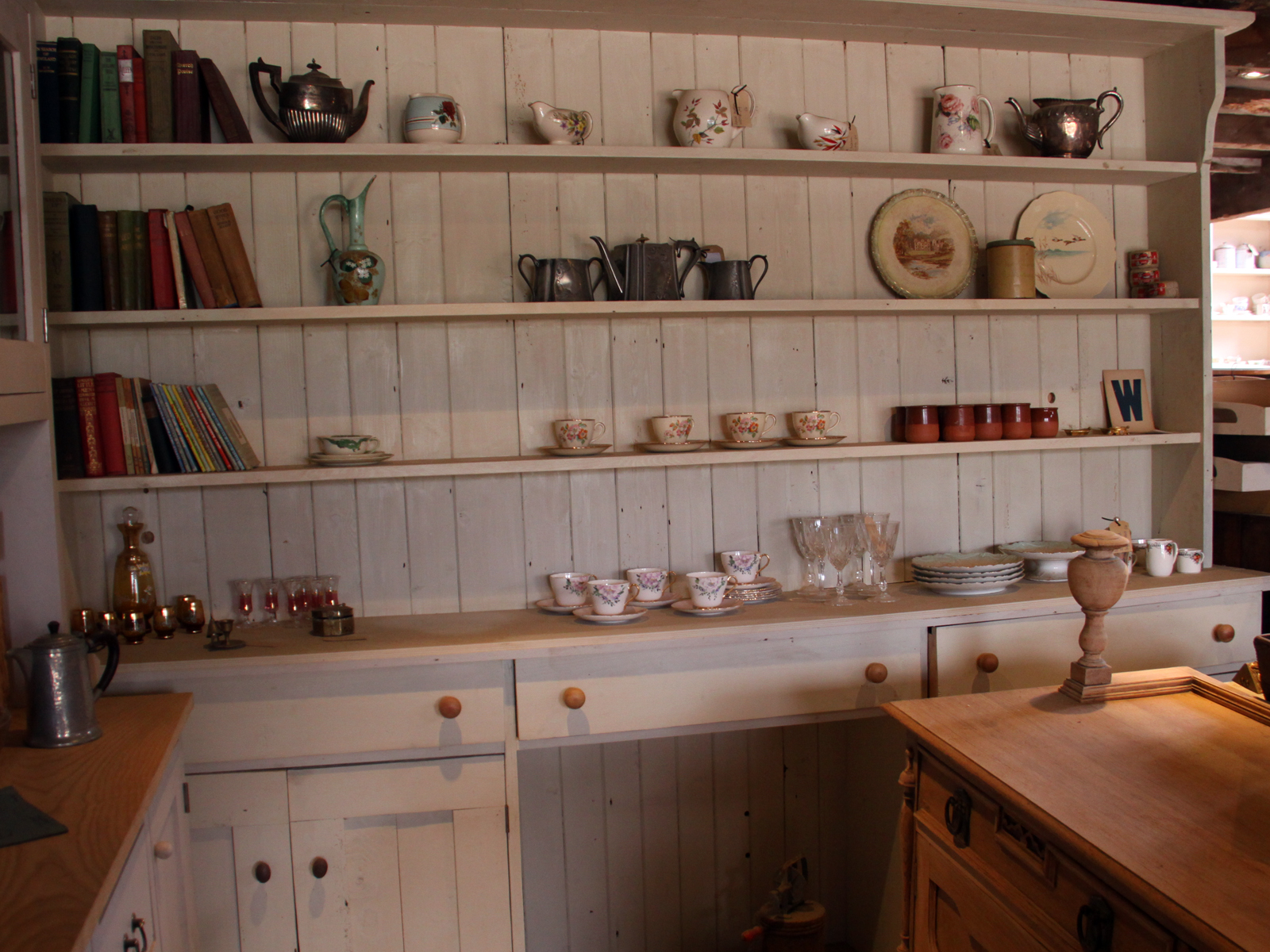 Bespoke Welsh Dresser Crafted Either Entirely In Solid Oak