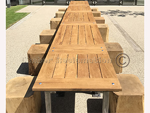 Any Size Bespoke Tables from Reclaimed Timber