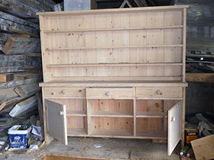 This Large Bespoke Dresser is beig crafted from Reclaimed Pine