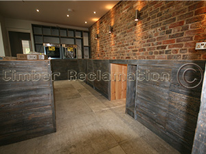 Kitchen Designed and Made by the Timber Reclamation Company in Prestwood 2015