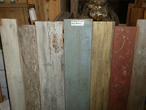 Examples of Painted Reclaimed Timber Wall Panels