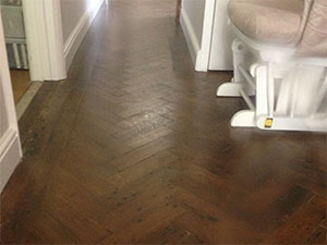 Reclaimed English Oak Parquet Flooring