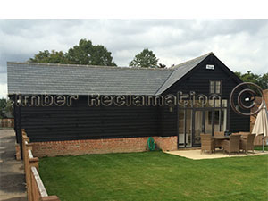 Barn Conversion by The Reclaimed Timber Company :  Showing a Finished Conversion from Outside