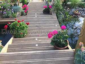 Designing and building sturdy garden steps and decking
