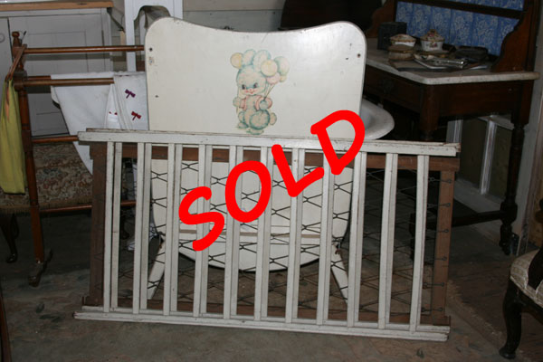 For Sale 1960s Cot in 4 Parts