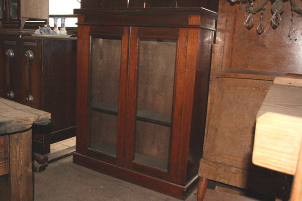 For SALE :Mahogany Display Cabinet