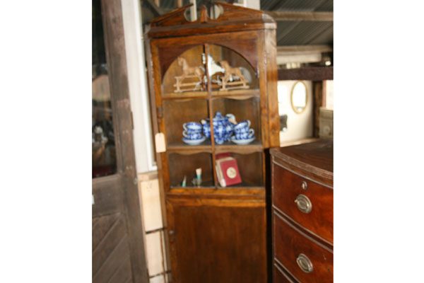 For SALE :Mid 1900s Corner Cabinet