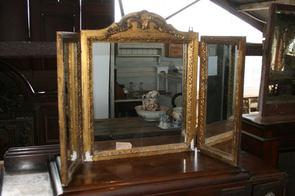 For SALE :Vintage Triptych Mirror